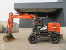 Hitachi ZX 140 W-5 B used wheel excavator