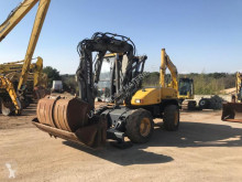 Mecalac 12 MSX used wheel excavator