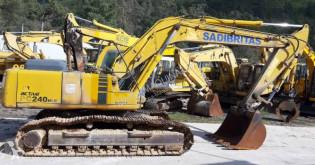 Komatsu PC240NLC 6K used track excavator