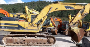 Caterpillar 330 L used track excavator