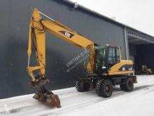 Caterpillar wheel excavator M316