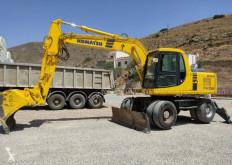Excavadora Komatsu PW150ES-6K excavadora de ruedas usada