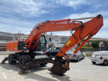 Hitachi used wheel excavator