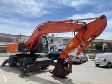 Excavadora Hitachi excavadora de ruedas usada