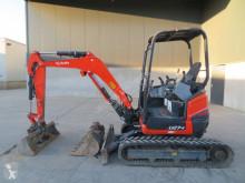 Kubota U 27-4 used mini excavator
