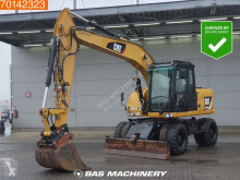 Caterpillar M313 used wheel excavator