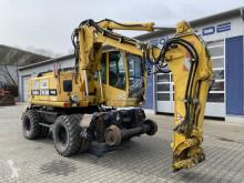 Excavadora excavadora de ruedas Atlas 1604 ZW 4x4 Zweiwegebagger TOP! *8.500 h