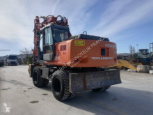 Hitachi ZX160W used wheel excavator