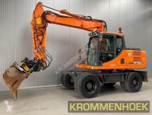 Escavadora Doosan DX 160 W-3 | Engcon Rototilt escavadora de rodas usada