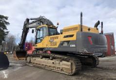 Volvo EC380 DL used track excavator