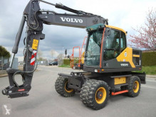 Volvo EW 160 E used wheel excavator
