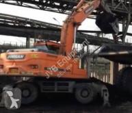 Excavadora Doosan DX210 W excavadora de ruedas usada