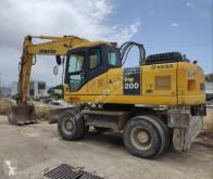 Komatsu PW200 excavadora de ruedas usada