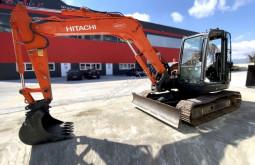 Escavadora Hitachi ZX85USBLC-3 escavadora de lagartas usada