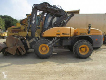 Escavadora Mecalac 12 MSX escavadora de rodas usada