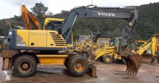 Pelle sur pneus Volvo EW160 B