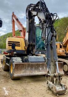 Escavadora Mecalac 714 MW escavadora de rodas usada