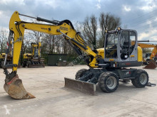 Excavadora excavadora de ruedas Wacker Neuson EW100 (included 3 buckets)