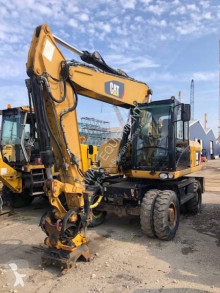 Caterpillar M318D VA used wheel excavator