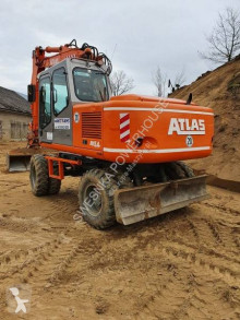 Atlas 1504 used wheel excavator