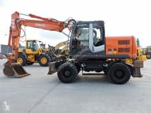 Escavadora escavadora de rodas Hitachi ZX140W-3