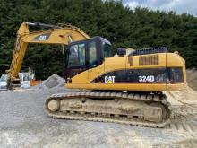 Caterpillar 324DLN used track excavator