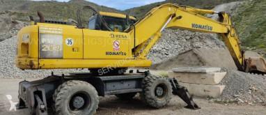 小松PW200-7 轮胎式挖掘机 二手