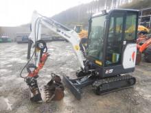 Bobcat E 19 mit hydr. Klammer + 3 x TL miniexcavadora usada