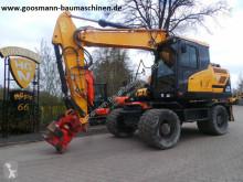 现代 HW 160 轮胎式挖掘机 二手