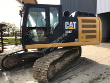 Caterpillar 324E used track excavator