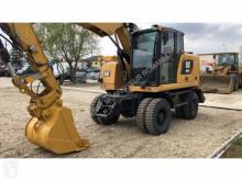Excavadora Caterpillar excavadora de ruedas usada