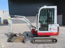 Escavadora Takeuchi TB016 mini-escavadora usada