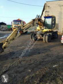 Excavadora Komatsu PW 150 excavadora de ruedas usada