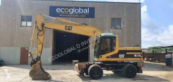 Caterpillar M318 M 318 ***QUICK HITCH*** used wheel excavator