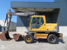 Excavadora Volvo EW 160 B excavadora de ruedas usada