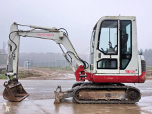 Takeuchi TB125 mini-escavadora usada