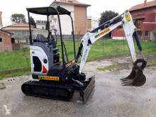 Bobcat E17Z mini-escavadora usada