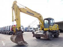 Excavadora Komatsu PW180 excavadora de ruedas usada
