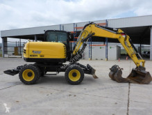 Excavadora Yanmar B95 W excavadora de ruedas usada