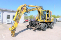 Atlas 1604 K ZW KLIMA Zweiwegebagger SCNELLWECHSLER DE escavatore gommato usato