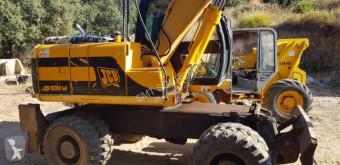 Excavadora JCB JS130W excavadora de ruedas usada