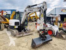 Excavadora Bobcat E 60 miniexcavadora usada