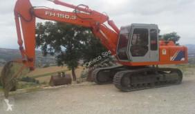 Escavadora escavadora de lagartas Fiat-Hitachi FH 150.3