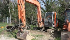 Excavadora excavadora de cadenas Hitachi ZX80SB