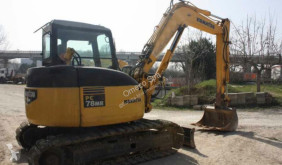 Graafmachine Komatsu PC78MR-6 tweedehands