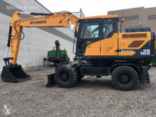 Excavadora Hyundai HW 160 excavadora de ruedas usada