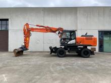 Excavadora Hitachi ZX220W-5B excavadora de ruedas usada