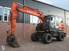 Excavadora Hitachi ZX140W-3 excavadora de ruedas usada