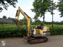 Excavadora miniexcavadora koop yanmar B12 minigraver/graafmachine