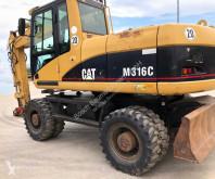 Caterpillar M316 C pelle sur pneus occasion
